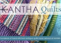 Interesting vintage kantha quilts have arrived the maiwa blog 10 Modern Vintage Kantha Quilt
