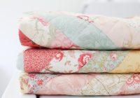 Interesting vintage paris floral quilt loganberry handmade 11 Interesting Vintage Inspired Quilts Inspirations