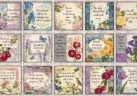 Interesting walk faith inspirational blocks floral blank quilting 11 New Blank Quilting Fabric Inspirations