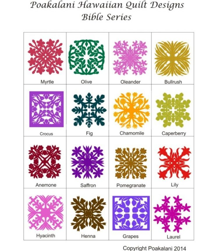 Permalink to 10 Cozy Hawaiian Quilting Patterns