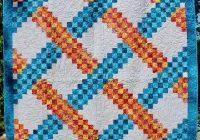 irish chain quilt pattern braided triple irish chain multiple sizes printed Modern Triple Irish Chain Quilt Pattern Gallery