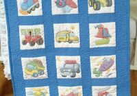 jack dempsey needle art 30079 nursery quilt transportation blocks 12 Interesting Jack Dempsey Needle Art Baby Quilts