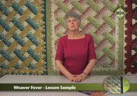 jackie robinson presents weaver fever Modern Weaver Fever Quilt Pattern Gallery