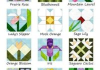 jeannes quilting Cozy Flower Quilt Block Patterns