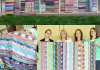 jelly roll quilt ideas the sewing loft Cozy Quilt Patterns From Jelly Rolls