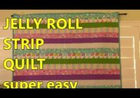 jelly roll strip quilt Cozy Jelly Roll Quilt Patterns Youtube Inspirations