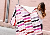 jelly roll strip quilt pattern see kate sew Modern Jelly Roll Strip Quilt Patterns Gallery