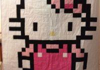 jordans hello kitty quilt girly girls hello kitty Hello Kitty Quilt Block Patterns Gallery