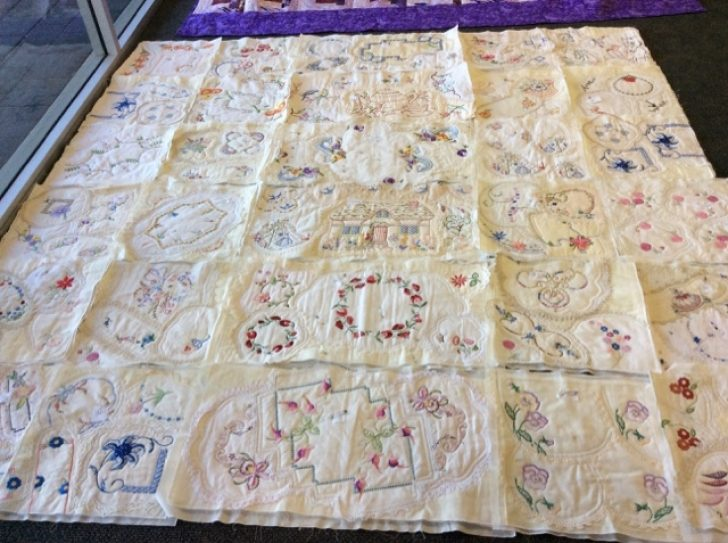 Permalink to Interesting Vintage Doily Quilt Gallery