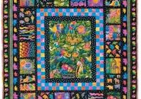 jungle songs quilt pattern free quilt pattern nancy Cozy Laurel Burch Quilt Patterns Gallery