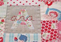 just 3 crippling self doubt sewing alphabet quilt Elegant 3 Fabric Quilt Idea Gallery