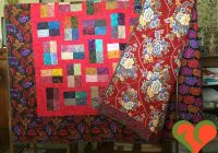 kaffe fassett and batik modern queen sized quilt in red measures 80 x 96 handmade one of a kind quilt Elegant Quilt Fabric Manufacturers