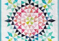 kaleidoscope mini quilt debbi groskopf seen at robert Stylish Kaleidoscope Quilt Patterns Inspirations