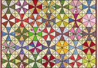 kaleidoscope quilt block mastlarge500id 857881 seams and Stylish Kaleidoscope Quilt Patterns Inspirations