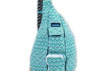 kavu womens rope bag backpack teal quilt back to school Elegant Kavu Rope Bag Vintage Quilt Gallery