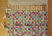 knitting needle case tutorial guthrie ghani Elegant Quilted Knitting Needle Case Pattern
