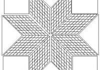 lakota star quilt pattern free strip pieced lone star tuto Modern Lone Star Quilt Pattern Free Inspirations