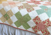 large granny square blocks make a charming quilt quilting Elegant Granny Square Quilt Pattern