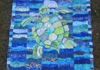 large sea turtle template for applique quilts sea turtle Unique Beautiful Turtle Baby Quilt Pattern Ideas Inspirations