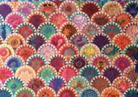 lavender quilts fabulous clamshell quilt in kaffe fassett Cool Pickled Clamshell Quilt Pattern Inspirations