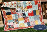 layer cake quilt pattern shab chic charm pack moda fabric ba throw sizes modern traditional beginner intermediate simple quick easy Stylish Shabby Chic Quilt Pattern
