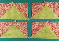 learn to make no waste flying geese quilt blocks quick Modern Flying Geese Quilt Pattern Instructions Inspirations