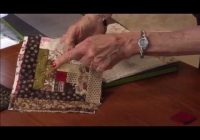 lessons with eleanor burns using the log cabin die youtube Cozy Eleanor Burns Log Cabin Quilt Pattern