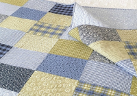 let the fabric shine in a simple patchwork quilt quilting Elegant Simple Patchwork Quilt Patterns