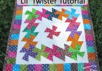 lil twister ba quilt pattern lil twister tutorial at Modern Lil Twister Quilt Patterns Inspirations