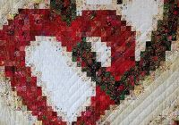 linking hearts the quilt shop at millers Elegant Bargello Heart Quilt Pattern