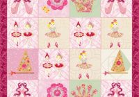little girls quilt pattern ballerina quilt patternkindergarden quilts Elegant Quilt Patterns For Little Girls Inspirations