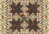 live a simple life bom quilt pattern primitive gatherings Modern Primitive Gatherings Quilt Patterns