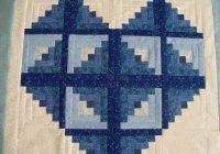 log cabin heart quilt Unique Log Cabin Heart Quilt Pattern
