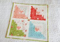 log cabin quilt block easy tutorials a quilting life Unique Log Cabin Heart Quilt Pattern