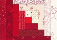 log cabin quilt block need cutting instructions for a 9 Unique Log Cabin Square Quilt Inspirations