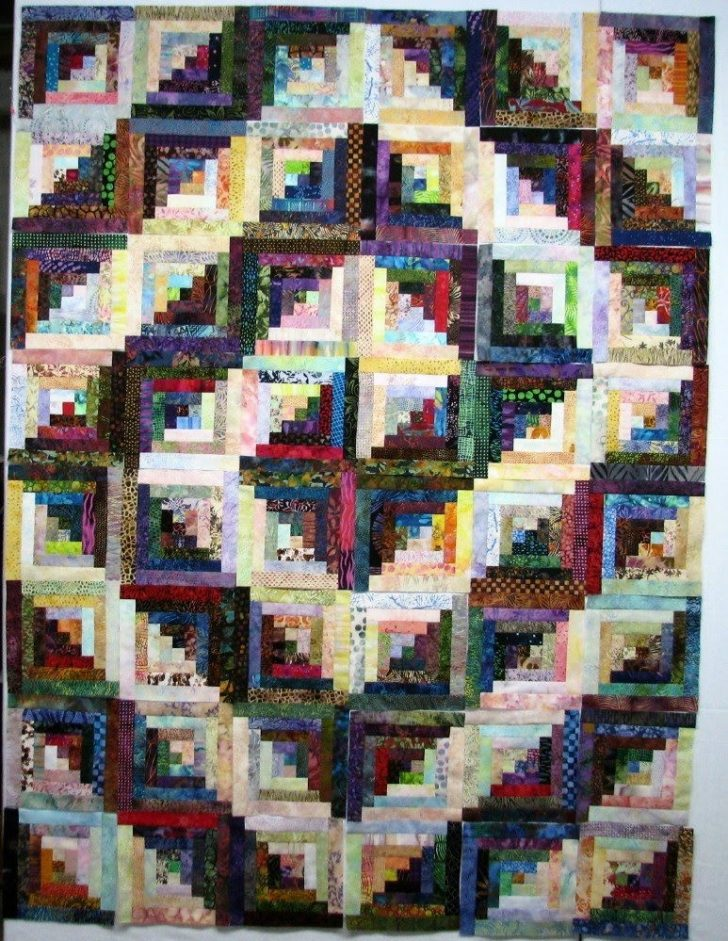 Permalink to Unique Log Cabin Patchwork Quilt Patterns Gallery