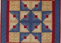 log cabin star pattern 9 Stylish Log Cabin Patterns For Quilting Inspirations