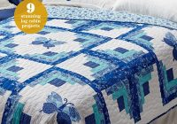 log cabin variations Unique Log Cabin Patchwork Quilt Patterns Gallery