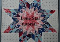 lone star block tutorial hopeful homemaker Modern Lone Star Quilt Pattern Free Inspirations