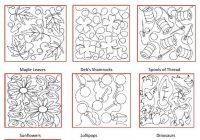 longarm quilting pattern book quilting design ideas Stylish Longarm Quilting Patterns Gallery