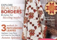 love of quilting magazine september october 2020 issue fat Cozy The Quilt Pattern Magazine