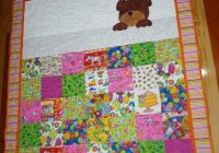 love the sleeping teddy ba quilts teddy bear quilt Unique Teddy Bear Applique Quilt Pattern Inspirations