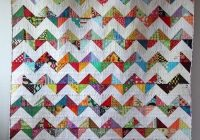 lovely zig zag quilt tutorial no triangles quilt design Unique Zig Zag Quilt Pattern No Triangles