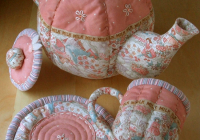 make a lovely quilted teapot quilting digest 10 Beautiful Teapot And Teacup Patterns For Quilt Blocks