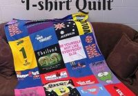 make a quilt out of t shirts dontstopgear abc02e6b9c29 how Cozy No Sew Tshirt Quilt Gallery
