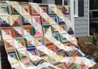 make yourself at home 7 cozy log cabin quilt patterns 9 Stylish Log Cabin Patterns For Quilting Inspirations