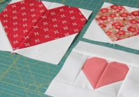 making heart blocks in multiple sizes cluck cluck sew Heart Quilt Block Patterns Gallery