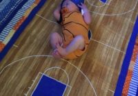 march madness ba quilt ollies first game daytrying out Stylish Basketball Quilt Designs Gallery