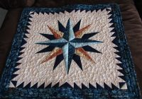 mariners compass quilt pc quilting projects nautical Modern Mariners Compass Quilts