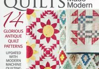 mccalls quilting heritage quilts made modern digital edition Modern Mccalls Vintage Quilt Patterns
